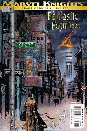 FANTASTIC FOUR 1234 (2001) #1-4