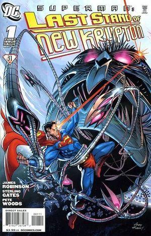 SUPERMAN LAST STAND OF NEW KRYPTON (2010) #1-3
