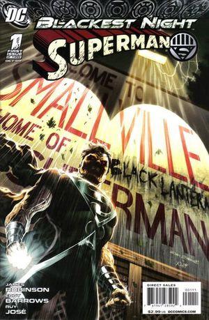 BLACKEST NIGHT SUPERMAN (2009) #1-3