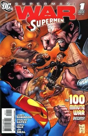 SUPERMAN WAR OF THE SUPERMEN (2010) #1-4