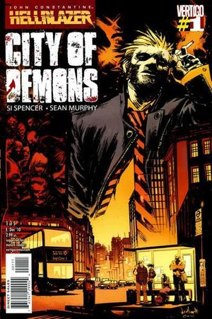 HELLBLAZER CITY OF DEMONS (2010) #1-5