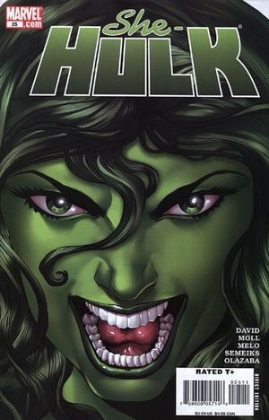 SHE-HULK (2005 2ND SERIES) #25