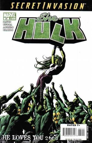 SHE-HULK (2005 2ND SERIES) #31