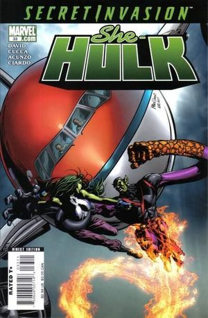 SHE-HULK (2005 2ND SERIES) #33