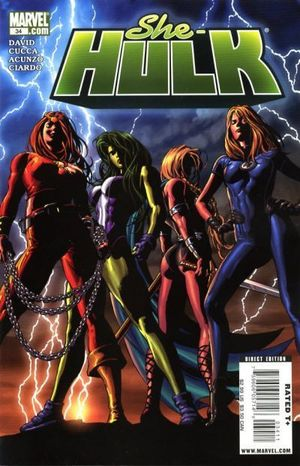 SHE-HULK (2005 2ND SERIES) #34