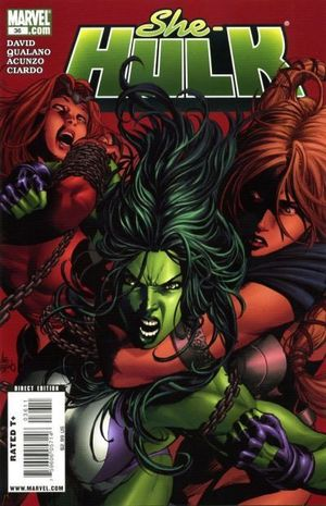 SHE-HULK (2005 2ND SERIES) #36