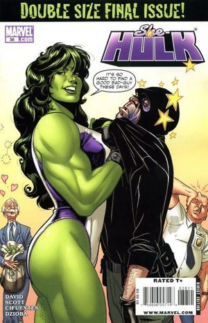 SHE-HULK (2005 2ND SERIES) #38