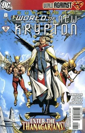 SUPERMAN WORLD OF NEW KRYPTON (2009) #8