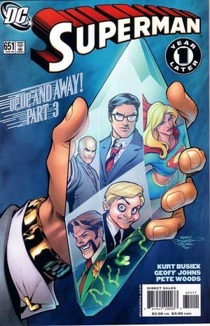 SUPERMAN (1987 2ND SERIES) #651