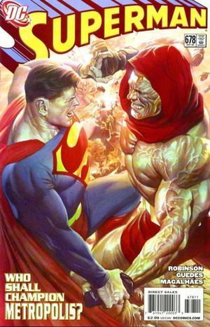 SUPERMAN (1987 2ND SERIES) #678