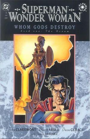 SUPERMAN WONDER WOMAN WHOM GODS DESTROY (1996) #1-4