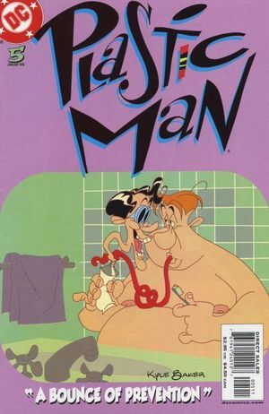 PLASTIC MAN (2004 3RD SERIES) #5