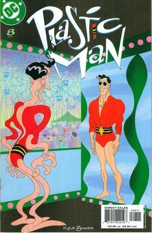 PLASTIC MAN (2004 3RD SERIES) #8