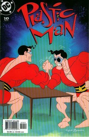 PLASTIC MAN (2004 3RD SERIES) #10