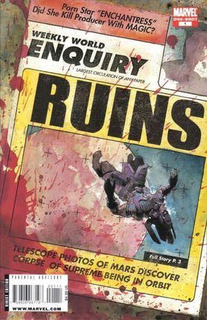 RUINS (2009 MARVEL) #1