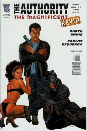 AUTHORITY THE MAGNIFICENT KEVIN (2005) #1-5