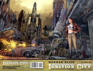 IGNITION CITY (2009) #1-5 WRAP