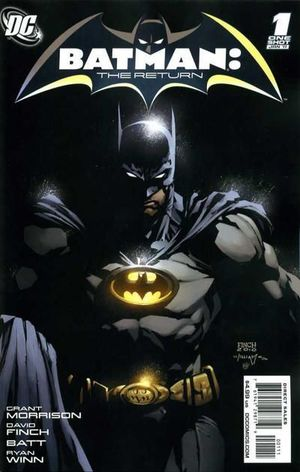 BATMAN THE RETURN (2010) #1