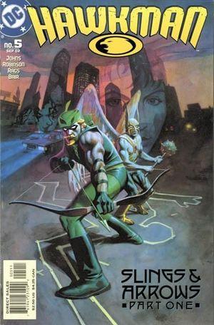 HAWKMAN (2002 4TH SERIES) #5