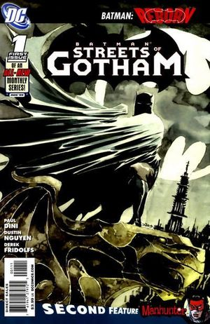 BATMAN STREETS OF GOTHAM (2009) #1