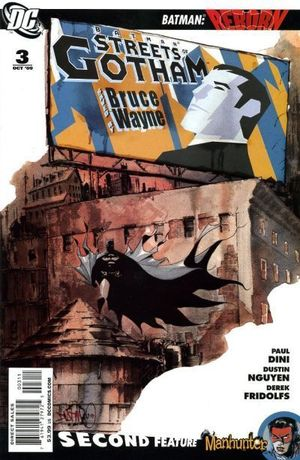 BATMAN STREETS OF GOTHAM (2009) #3