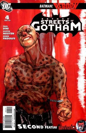 BATMAN STREETS OF GOTHAM (2009) #4