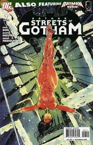 BATMAN STREETS OF GOTHAM (2009) #7