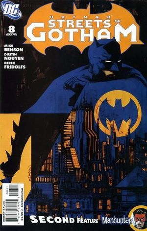 BATMAN STREETS OF GOTHAM (2009) #8