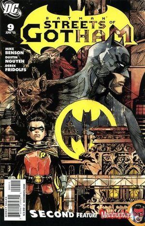 BATMAN STREETS OF GOTHAM (2009) #9