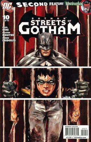 BATMAN STREETS OF GOTHAM (2009) #10
