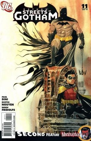 BATMAN STREETS OF GOTHAM (2009) #11