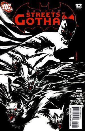 BATMAN STREETS OF GOTHAM (2009) #12