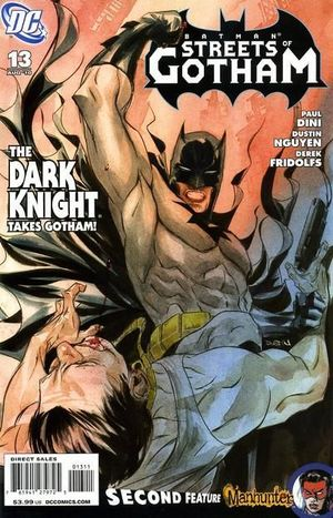BATMAN STREETS OF GOTHAM (2009) #13