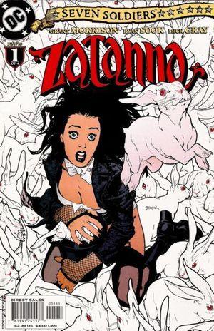 SEVEN SOLDIERS ZATANNA (2005) #1-4