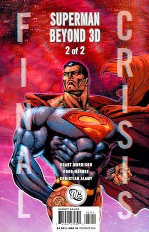 FINAL CRISIS SUPERMAN BEYOND 3-D (2008) #2B