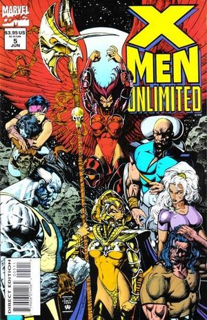 X-MEN UNLIMITED (1993 1ST SERIES) #5