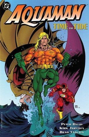 AQUAMAN TIME AND TIDE TPB (1996) #1