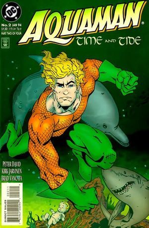 AQUAMAN TIME AND TIDE (1993) #2