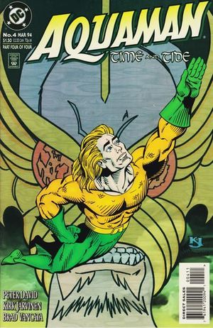 AQUAMAN TIME AND TIDE (1993) #4