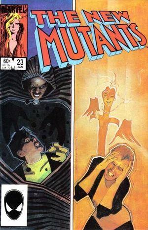 NEW MUTANTS (1983 1ST SERIES) #23