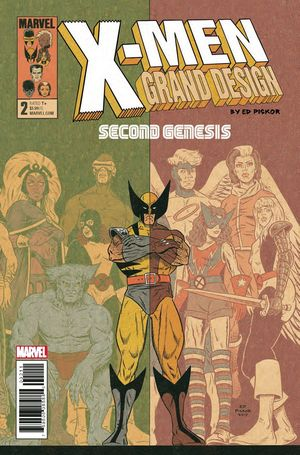X-MEN GRAND DESIGN SECOND GENESIS (2018) #2