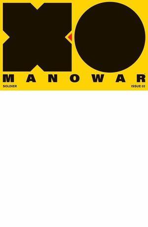 X-O MANOWAR (2017) #2 BLANK