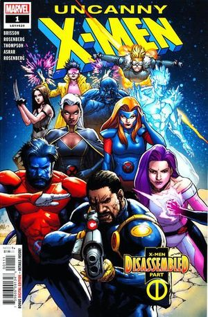 UNCANNY X-MEN (2018 5TH SERIES) #1