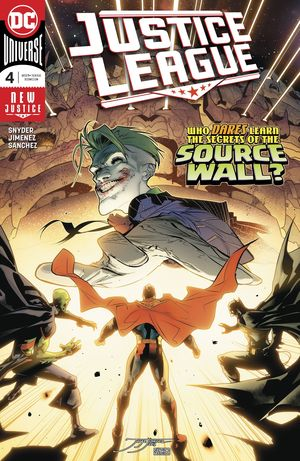 JUSTICE LEAGUE (2018) #4