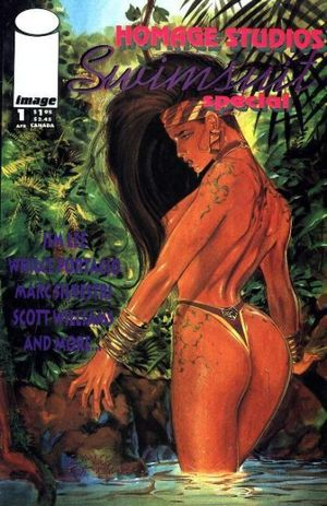 HOMAGE SWIMSUIT SPECIAL (1993) #1