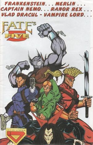 DER VANDALE AND FATES FIVE PREVIEW (1996) #1