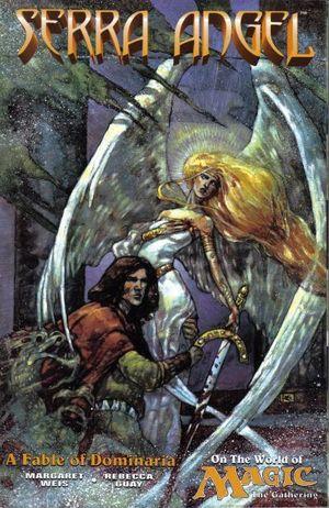 MAGIC THE GATHERING SERRA ANGEL WORLD OF MAGIC (19 #1