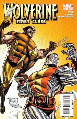 WOLVERINE FIRST CLASS (2008) #21