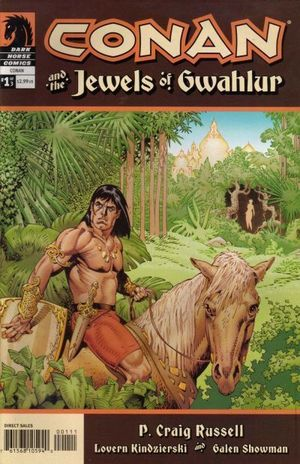 CONAN AND THE JEWELS OF GWAHLUR (2005) #1-3