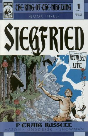RING OF THE NIBELUNG SIEGFRIED (2000) #1-3
